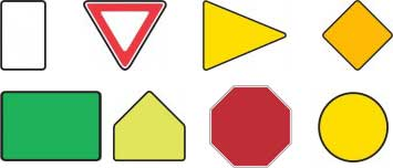 Third Party Dmv >> Road signs Archives - Free DMV Test Information