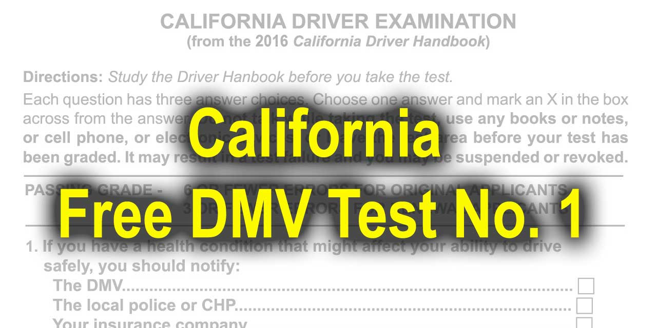 driver knowledge test answers pdf