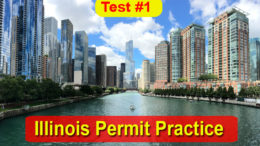 Illinois Permit Practice Test - No. 1