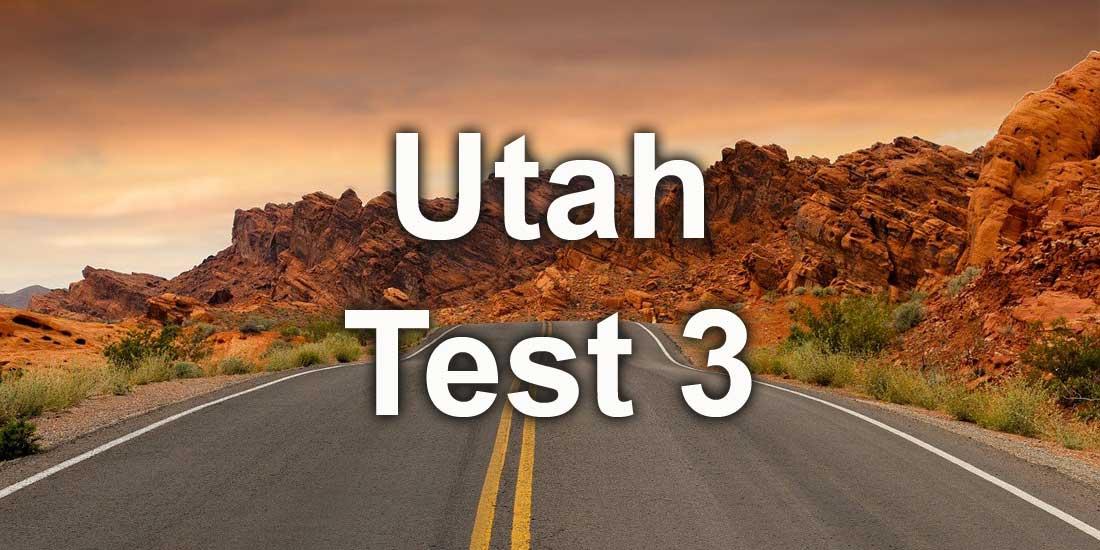 Utah Easy Pracy Test 3 by freedmvtest.info