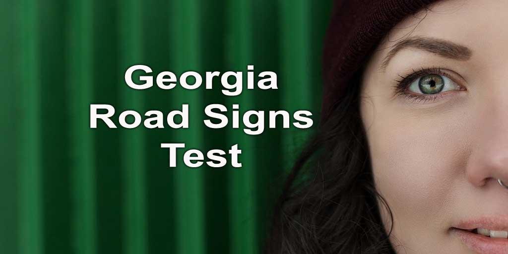 Georgia road signs test - photo by nastya_gepp