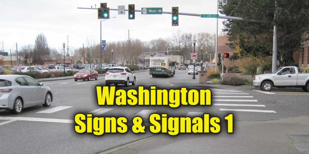 Washington Signs and Signals Test 1